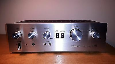 Near mint refurbished Pioneer SA-5500 2 Integrated amplifier excellent condition
