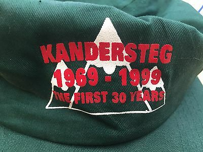 Kandersteg International Scout Centre 30th Anniversary Green Commemorative Cap