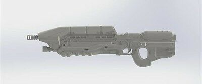 Halo Assault Rifle 3D Printed replica 1:1 scale