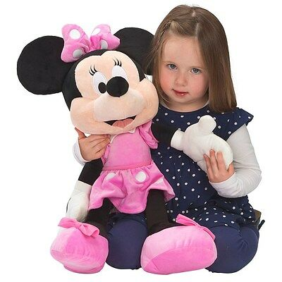 """Disney Minnie Mouse 60cm Plush - Big 24"""" tall teddy soft toy NEW & FREE DELIVERY"""