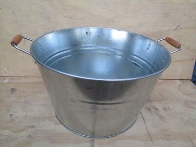 Glavanised Ice bucket,wash tub, basin