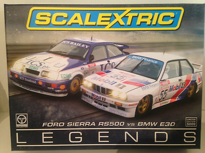 Scalextric C3693A Ford Sierra RS500 vs BMW E20 Limited Edition 5000