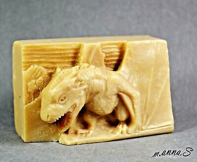 DRAGON SILICONE SOAP MOLD -  SOAP BAR MOULD goth PLASTER CANDLE CLAY WAX