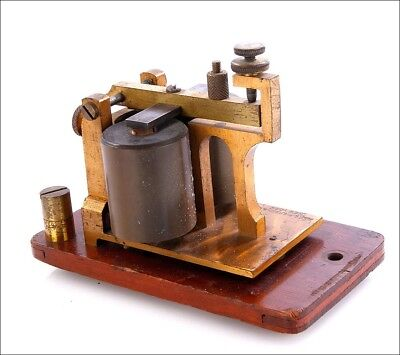 Antique Telegraphic Relay Made by Foote, Pierson & Co. New York, Circa 1880