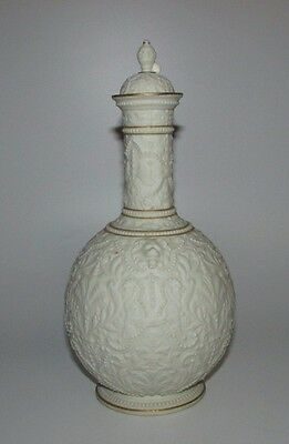 Lovely Antique 19thC Copeland Crystal Palace Art Union Parian Vase.
