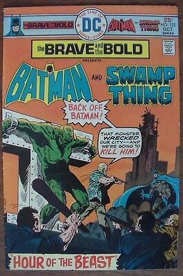 The Brave and the Bold #122 (Oct 1975, DC) Batman Swamp Thing appearance