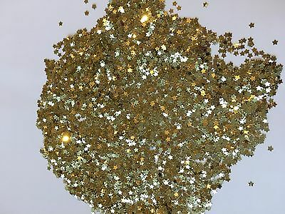 Gold Metallic Stars Sparkle Table Wedding Tiny Star Confetti Mini Decoration