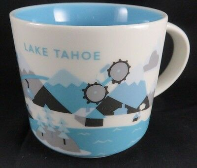 NEW Starbucks LAKE TAHOE Coffee Mug -  Boxed You Are Here Large 14 oz City Cup