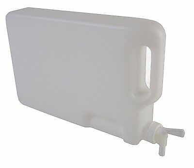 Hudson Exchange 5 Liter HDPE Hedpak Container With 38mm Spigot