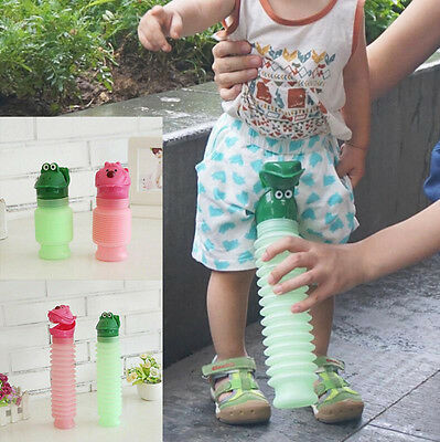Kids Portable Urinal Travel Outdoor Camping Car Toilet Potty Bottle 600ml New