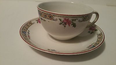 Alfred Meakin 1920's Matching Cup And Saucer China Set England