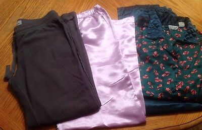 Assorted Lot Of Womans Sz M Loungepajama Clothes