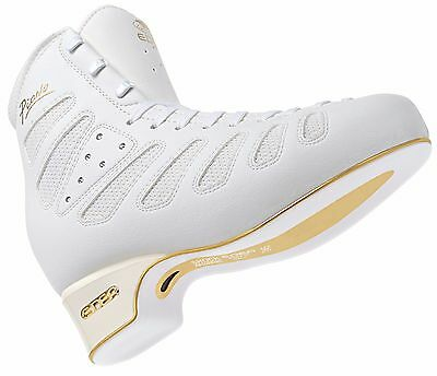 Edea Piano junior Figure Skates White BOOT ONLY - 245 C -Free Postage - LAST ONE