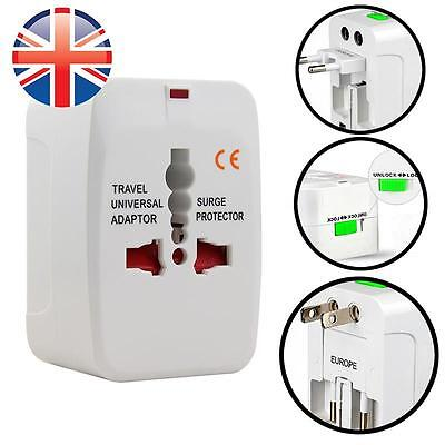 *UK Seller* Universal Worldwide Travel Power Plug Multi Adapter Converter Socket