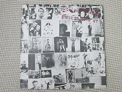 ROLLING STONES  -  EXILE ON MAIN STREET  -    Double  Vinyl LP,
