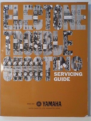 1977 Yamaha Electone Troubleshooting Service Guide - Schematics, Board Diagrams