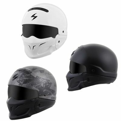 *Ships Same Day* Scorpion Covert Motorcycle Helmet 3 in 1 (Matte Black, Ratnik)