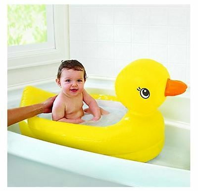 Duck Baby Bath Tub Inflatable Safety Toy Floating Infant Bathing Toddler Shower