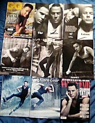Channing Tatum - Foxcatcher Magic Mike - Clippings 38 Full Page GQ Vanity Fair +