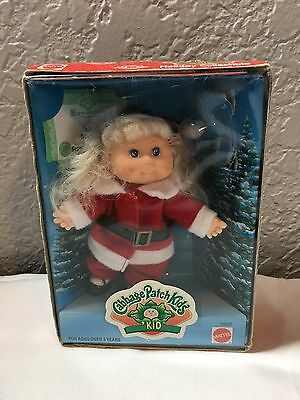 1997 MATTEL Cabbage Patch Kids KID Christmas Holiday Collectible Miniature Doll