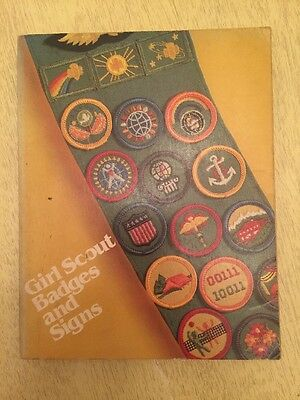 Girl Scout Badges & Signs For Juniors 1980