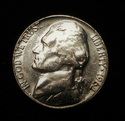 1962D U.S.A Jefferson Nickel 5 Cents coin  #113
