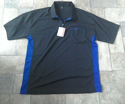 target coolplay hybrid black blue darts shirt XXL
