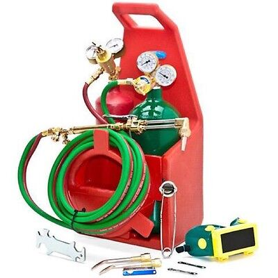 Qe Professional Portable Torch Kit / Oxygen Acetylene Oxy Welding Cutting (New)