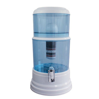 NEW 20L 8 Stage Water Filter Ceramic Carbon Mineral Bench top Dispenser Purifier