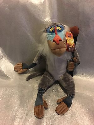 """Disney Store Official The Lion King 16"""" / 40cm Rafiki Plush - New with Tags NWT"""