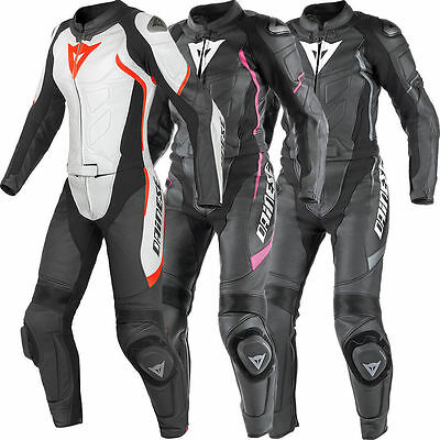 Ladies Women Dainese Motorbike Leather Suit Motorcycle Custom Made Any Size/Colr