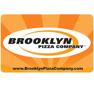 Brooklyn Pizza Company Gift Card- $25, $50 or $100 - Email delivery