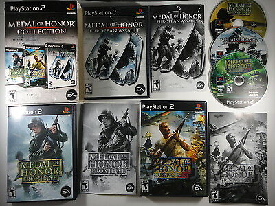 ¤ Medal of Honor Collection ¤ Complete Good! PlayStation 2 PS2
