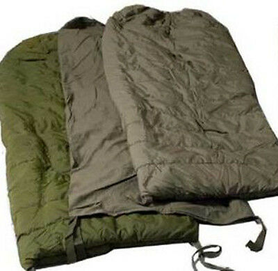 Used Canadian military 3 pieces Cold weather arctic sleeping bag ( store #S12 )