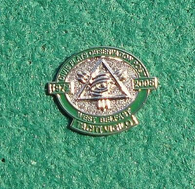 RUC Royal Ulster Constabulary Police DIVIS FLATS OBSERVATION POST pin badge