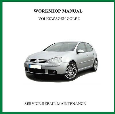 2004-2008 Volkswagen Golf V Golf Plus Workshop Service Manual Auto