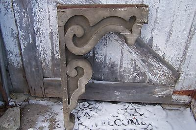 LARGE VICTORIAN corbel bracket Architectural Salvage Shabby Cottage Chic Antique