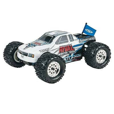 Associated RC 1:18 Scale Rival 4WD Monster Truck ASC20112 White NEW