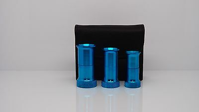 Aluminium Fly tying Hair Stacker, 3 pcs. set, Fly Tying Tools Kits. ( FT95 )