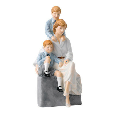 NEW Royal Doulton Royal Commemoratives Loving Mother Figurine