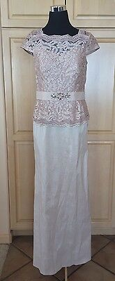 Ignite evenings New York Formal Mother Of The Bride Champagne Dress