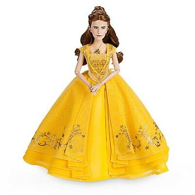 DisneyStore Beauty and the Beast Live Action Doll Belle Yellow Dress Emma Watson