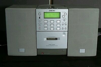 Sony PMC-D305 Micro Component AM/FM Stereo CD Cassette Micro Hi-Fi System