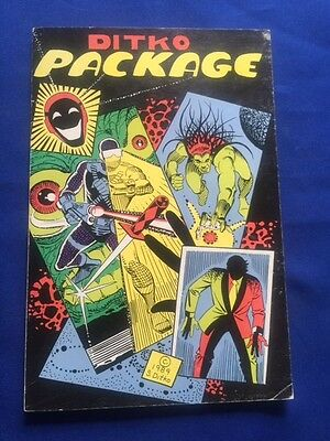 Ditko Package - First Edition Signed By Graphic Artist Steve Ditko