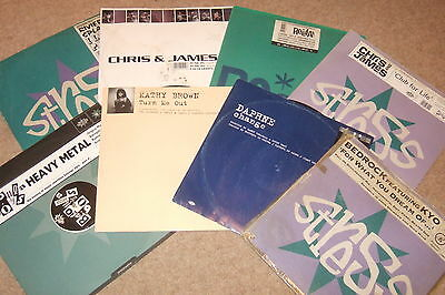 """8 x 12""""  Stress Records Vinyl Collection           90's HOUSE CLASSICS!!!"""
