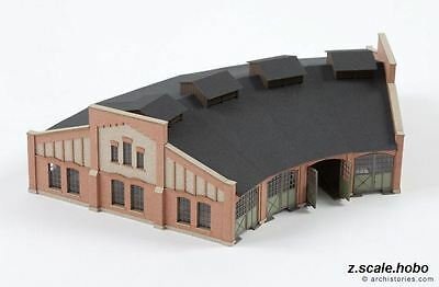 Archistories Z Scale 112121 Brick Locomotive Roundhouse Building Kit *NEW $0SHIP