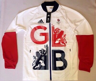 RIO 2016 TEAM GB Olympics Presentation Jacket Adidas Great Britain BNWT XL 44/46