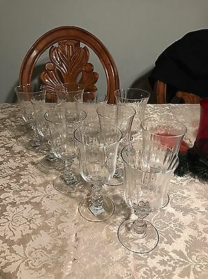 Mikasa French Countryside Water Goblets Set Of 8