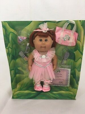 "Ballerina CABBAGE PATCH  KIDS Fantasy Collection Doll Ballerina 6"" NIB"