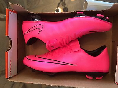 New NIKE Mercurial VAPOR X FG SOCCER CLEATS 651620-660 Sz 5 Youth